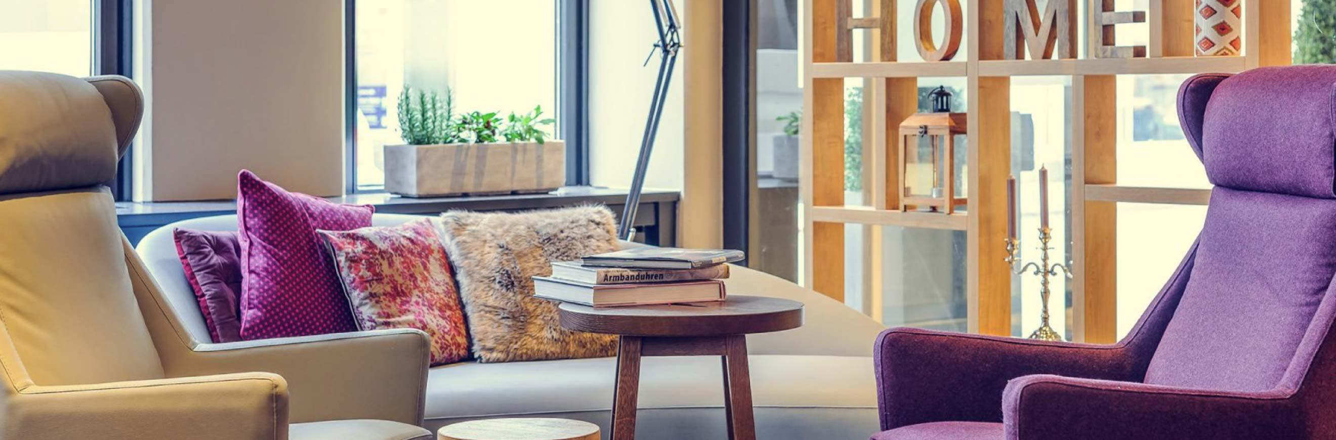 Mercure relax header für Baum & Garten Website