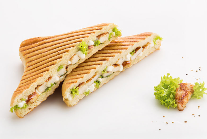 Chicken Panini aus der ibis Hotels snacks & drinks Speisekarte