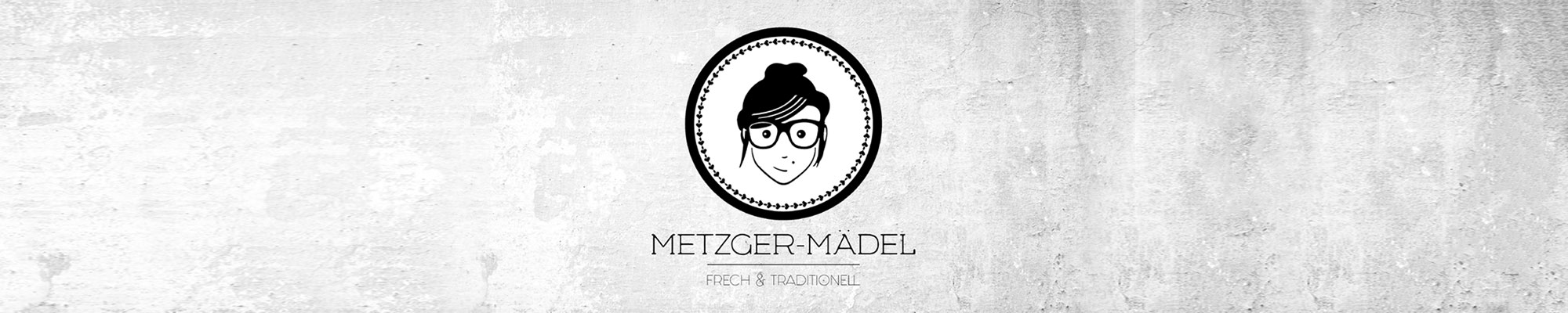 verpackungsdesign Edeka Metzger Mädel Logo als Header für die Food & Co Foodagentur Website