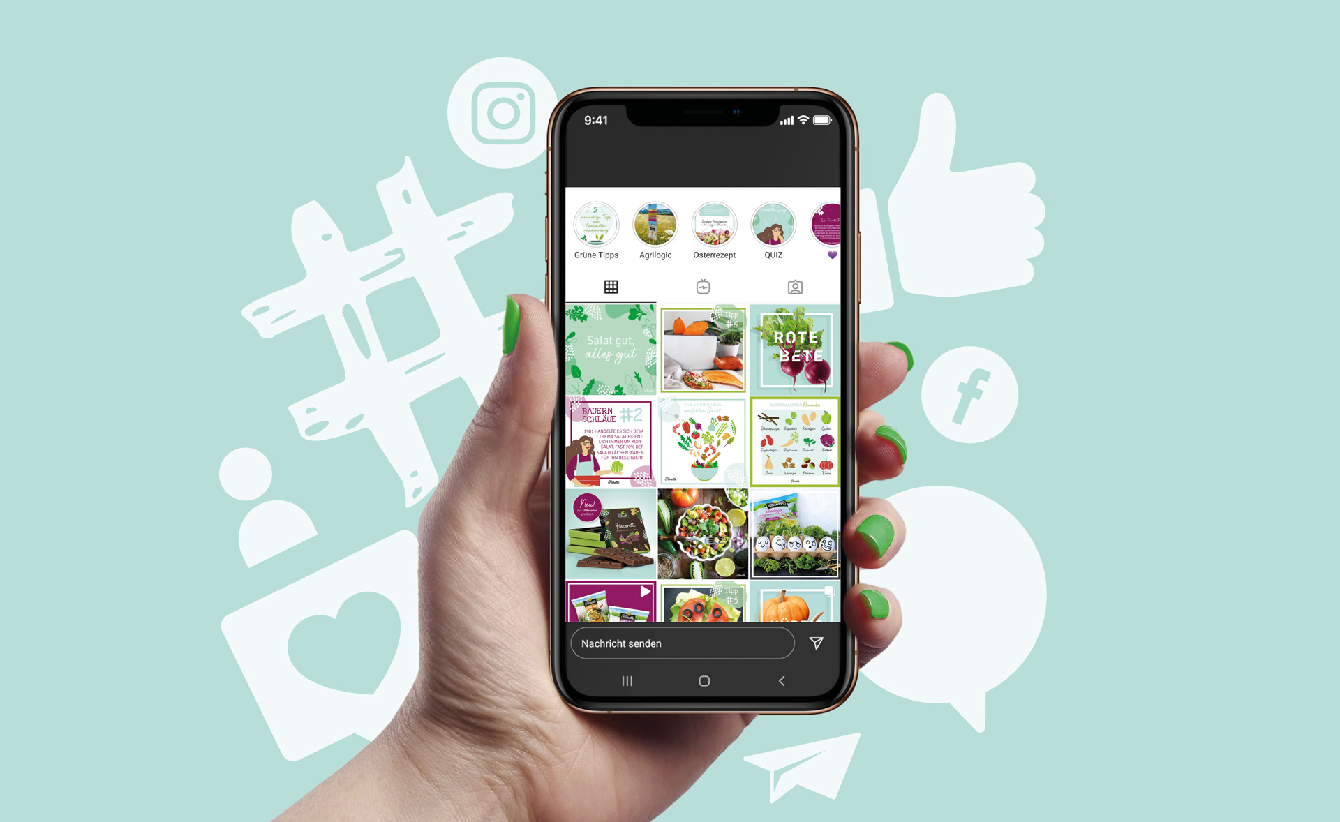 Foodagentur Food & Co Kommunikation Social Media Florette