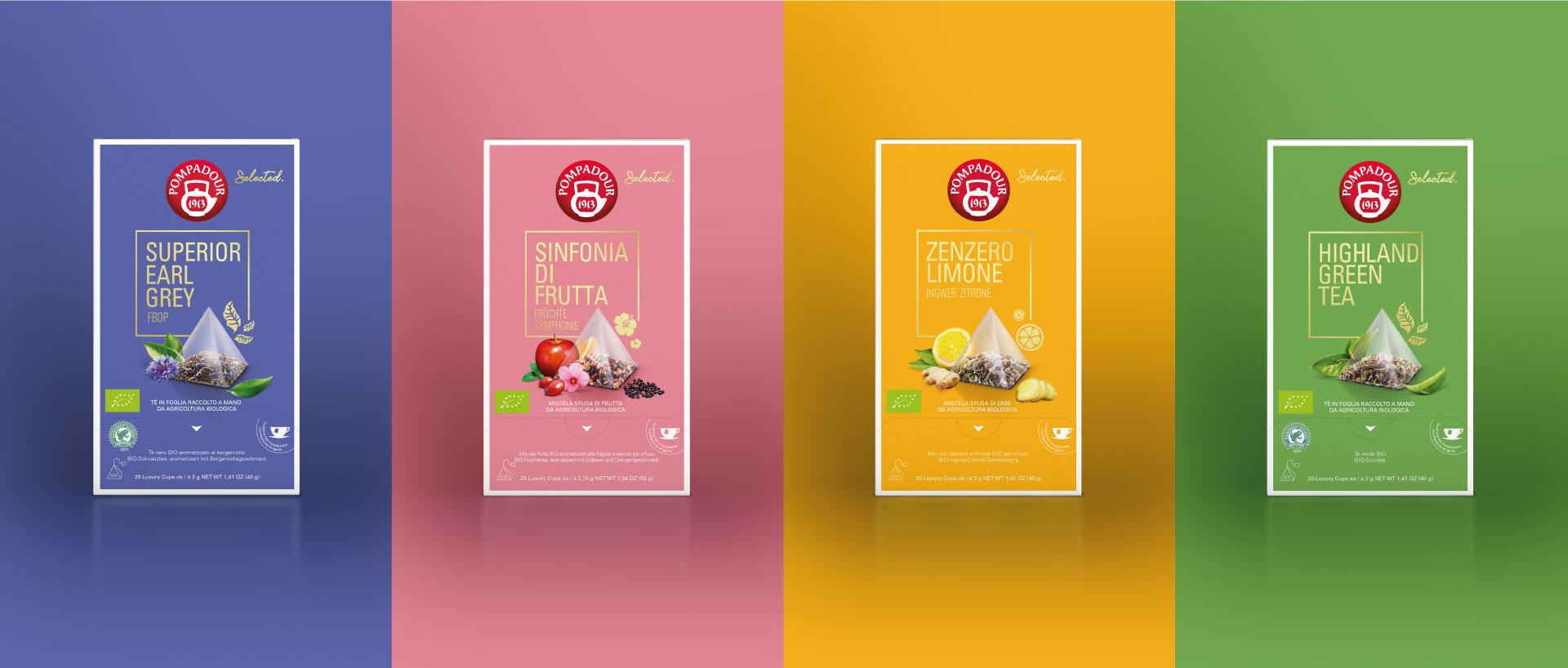 Foodagentur Food & Co Kommunikation Packaging Design Teekanne