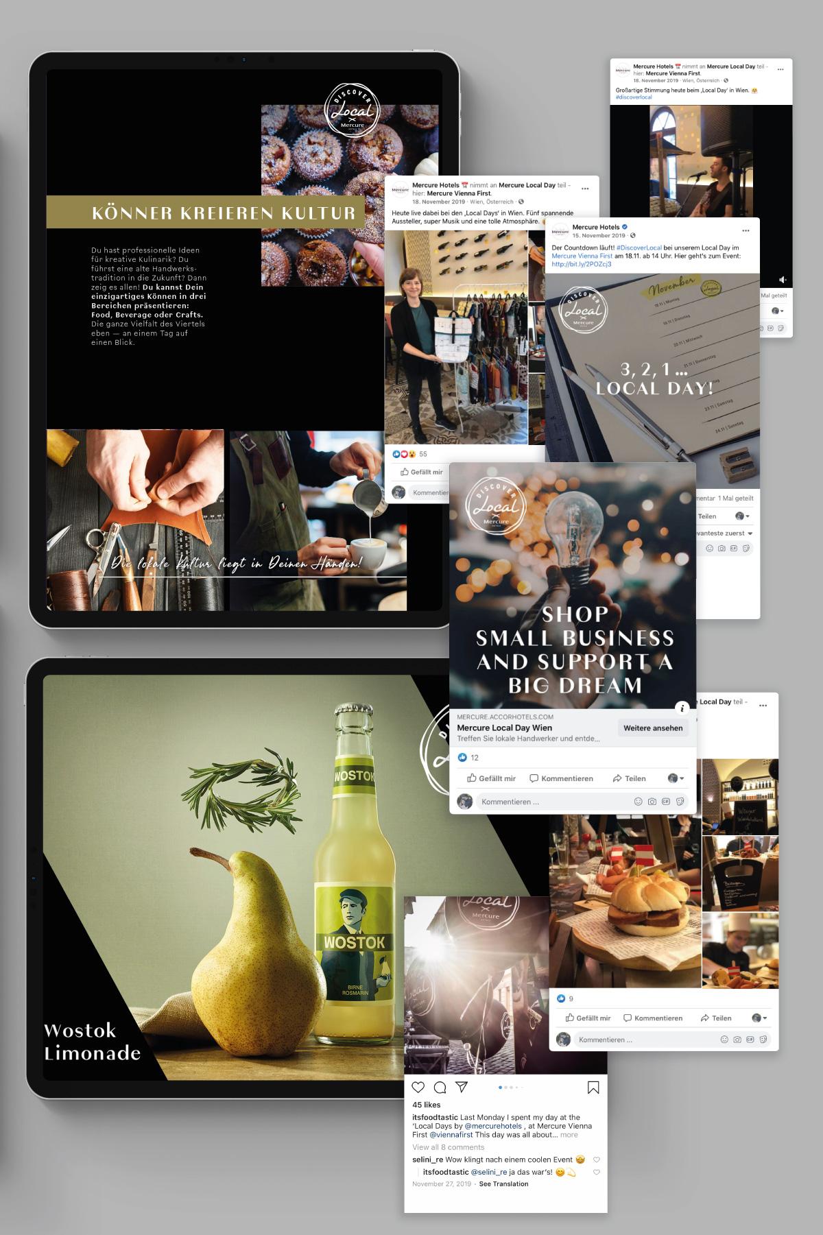 Social Media Mercure Food Agentur FoodundCo Frankfurt