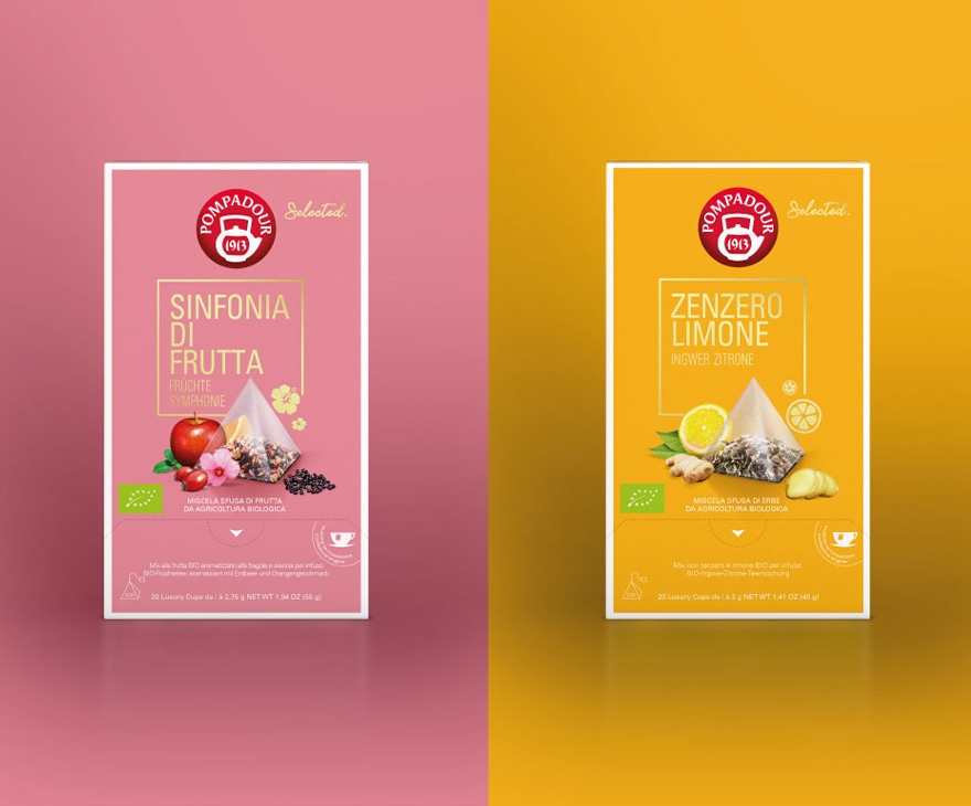 Foodagentur Food & Co Kommunikation Packaging Design Teekanne